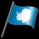 Antarctica Flag 3 icon