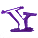 Drawn, Hand, Yahoo icon