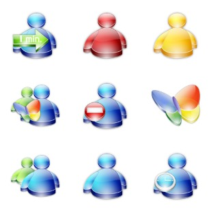 Msn Buddy icon sets preview