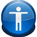accessibility, desktop, setting, config, option, configure, preference, configuration icon