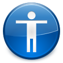 desktop,accessibility,preference icon