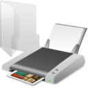 printer,folder,print icon