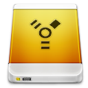 firewire, drive, device, external icon