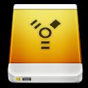 firewire, drive, device, external icon