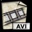 video, gnome, msvideo, mime icon