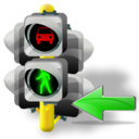 Back, Lights, Traffic icon