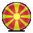 macedonia, flag icon