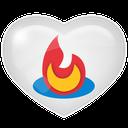 media, social, feedburner icon