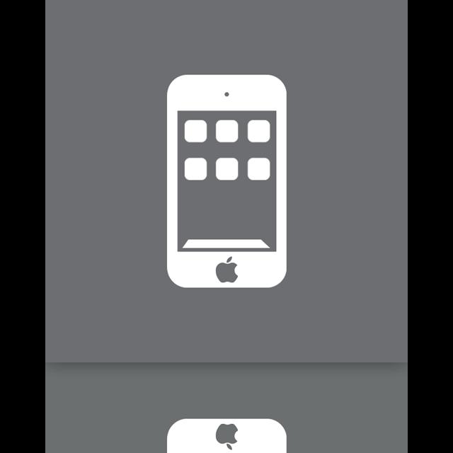 mirror, ipod icon