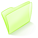 normal, green, dossier icon