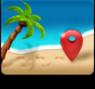 maps,beach icon