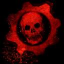 gears,war,skull icon