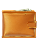 Leather, Wallet icon