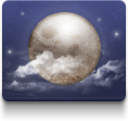 night, weather icon