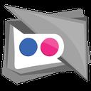 square, photo, media, flickr, social icon