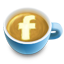 Fb, Latte, Social icon