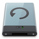 b, backup, graphite icon