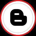 logo, blogger, brand, social, media icon