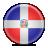 republic, dominican, flag icon