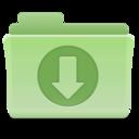 Downloads Folder Green icon