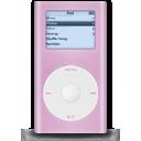 ipod,mini,pink icon