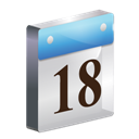 3d, Date, icon