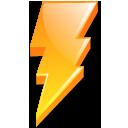 Lightning, Power, Zap icon