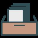 Paper desk icon