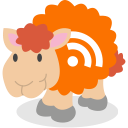 social network, sheep, rss icon