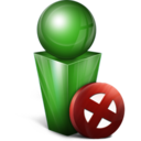 stop,green,cancel icon