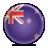 new, flag, zealand icon