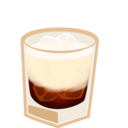 white,russian,cup icon