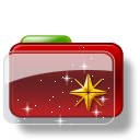 Christmas Folder Star 2 icon