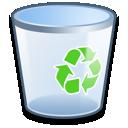 recycle, bin, empty icon