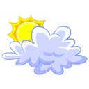 weather, sun, cloud, climate icon