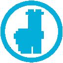 mb, llama icon