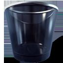 blank, empty, trashcan icon