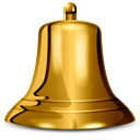 Alarm, Bell, Ringtone icon