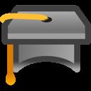 Education, Graduate, School, Webinar icon