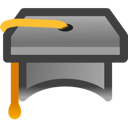 teaching, school, webinar, teach, graduate, education, learn icon