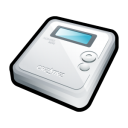 muvo, creative, mp3 player, ipod icon