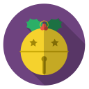 jinglebell, gold, xmas, winter, christmas, holiday icon