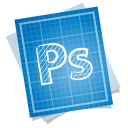 adobe blueprint photoshop icon