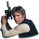 Han, Solo, Star, Wars icon