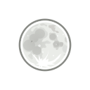 clear, weather, night icon