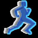 Animation, Man, Running icon
