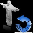 cristoredentor,reload,refresh icon