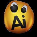 adobe,illustrator icon