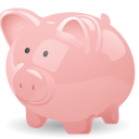 piggy bank, cash, savings, money, pig icon