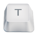 letter uppercase T icon